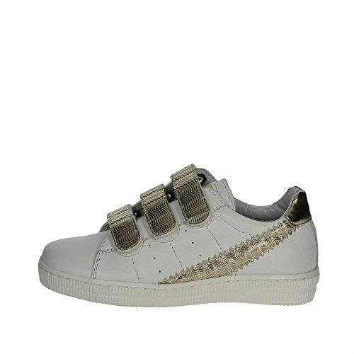CIAO BIMBI - Chaussure blanche en cuir, soignée dans tous ses détails, fille, filles, femme