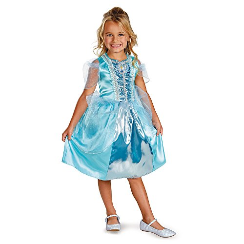 (Little Girls' Cinderella Sparkle Classic Costume Medium (7-8) by Disguise Costumes)