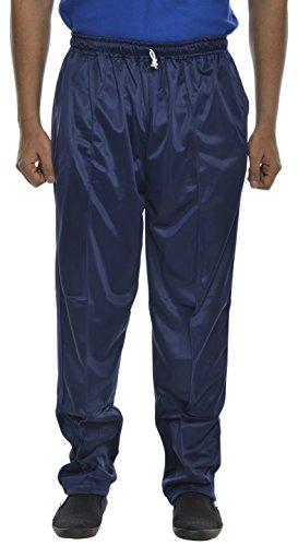 RFI Creations Men's Polyester Track Pant (RFI015--XL, Blue, X-Large)