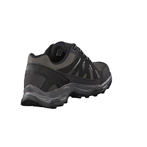Salomon L39356900, Chaussures de Course de Trail Homme magnet/blk