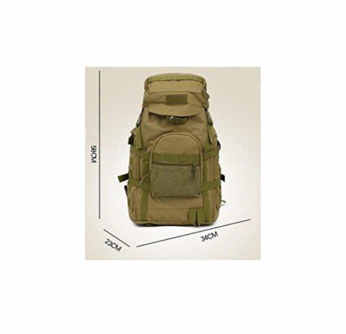 Neu Mode Outdoor Rucksack Tarnung Große Multifunktionale Bergsteigen Tasche ACUcamouflage
