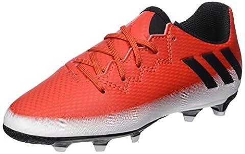 adidas Messi 16.3 Fg, Chaussures de Football Mixte Enfant, Rouge