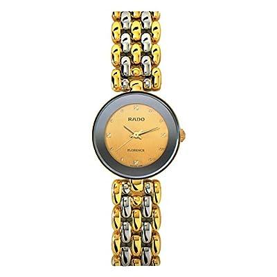 Rado Women's Florence 23mm Two Tone Steel Bracelet Quartz Watch R48745253