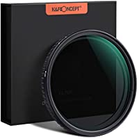 ND Filter ND2-ND32 K&F Concept Nano Slim Variabler ND Filter Graufilter 77mm Variabler Objektivfilter