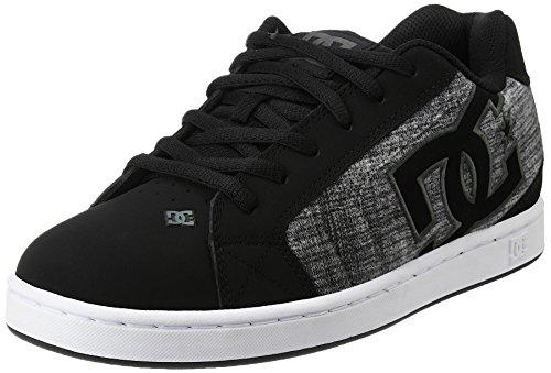 dc-shoes-net-se-zapatillas-para-hombre-negro-black-marl-42-eu