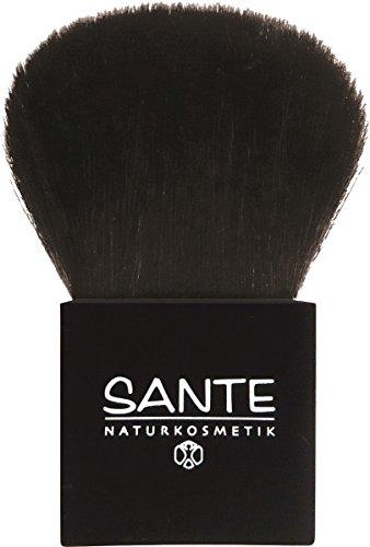 SANTE Naturkosmetik Puderpinsel, Brush, Feinstes Naturhaar, 1 Stück