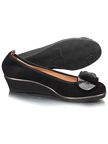 Marion Spath  337-786, Ballerines femme Noir