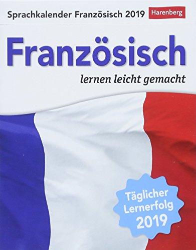 Sprachkalender Französisch - Kalender 2019: Französisch lernen leicht gemacht