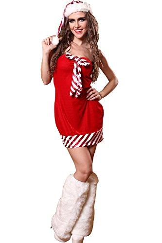 PRIDE S Weihnachten Kostüme Uniformen Halloween Versuchung Set Cosplay Kostüme Spiel Uniformen ( Farbe : Rot , größe : L ) (Tv Spot Kostüme Halloween)