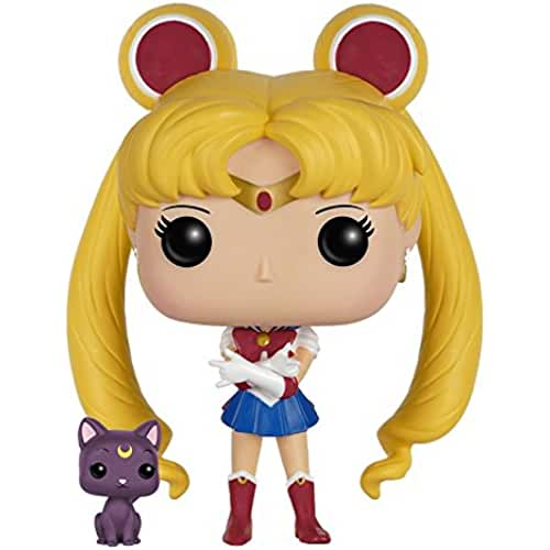 figuras kawaii Funko - Figurine Sailor Moon - Sailor Moon & Luna Pop 10cm - 0849803063504