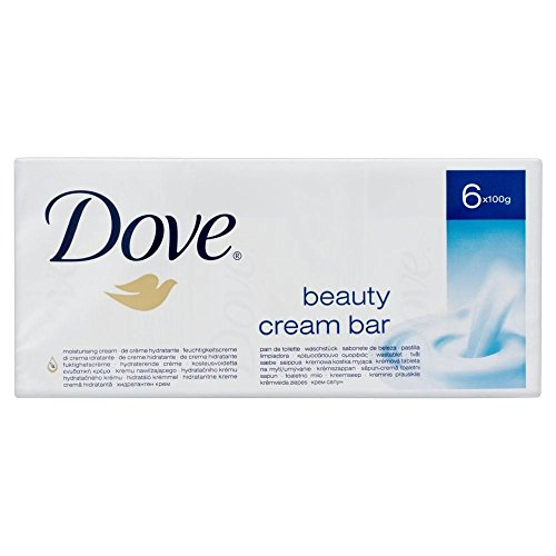 Dove Beauty Cream Bar (6 x 100 g) (Feuchtigkeitsspendende Dove Shampoo)