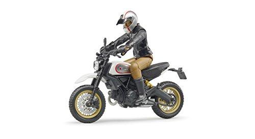 Bruder 63051-Moto Ducati Desert Sled