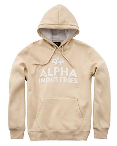 Alpha Industries Hoody Foam Print Beige