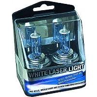 Lampade alogene Set Mcvoice White Laser Light 55W. Con e di approvazione. Confezione da  pezzi. H1