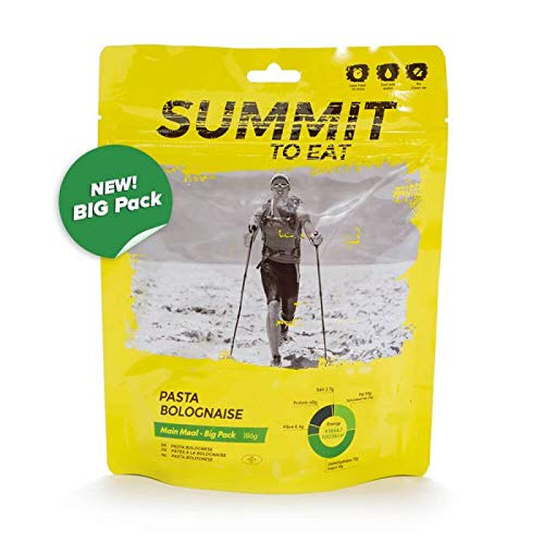 Summit To Eat Pasta Bolognese Big Pack Trekking Food/Survival Aliments Longue durée