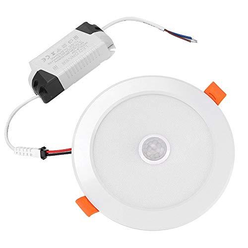 koulate Downlight Empotrado, Paquete De 4 Sensores De Cuerpo Humano Blanco Redondo...