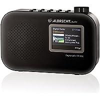 Albrecht DR 65 C Portable Digital Black radio - Radios (Portable, Digital, DAB+,FM, 1 W, 8 Ω, 3.5 mm) prezzi su tvhomecinemaprezzi.eu