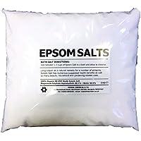 EPSOM SALT | 20KG BAG | 100% Natural | FCC Food Grade | Magnesium Sulphate