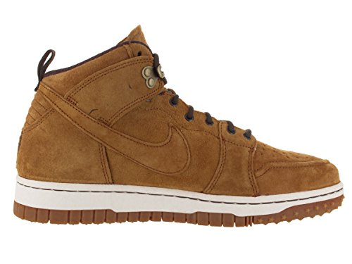 Nike Herren Dunk Cmft Wb Basketballschuhe, Blau Braun (Wheat / Brq Brwn-Sl-Gm Lght Brwn)