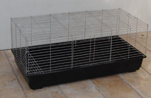 XXL Meerschweinchenkäfig Hasenkäfig Nagerkäfig 1,20 M