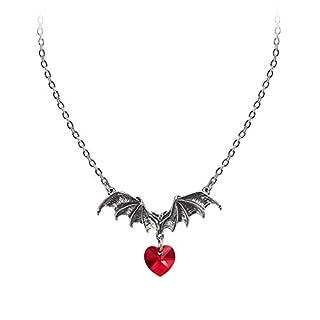 Alchemy Gothic Vampire Loveheart Pendant