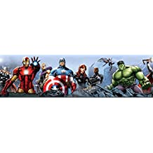 Los Vengadores - Characters, Marvel Póster Cenefa Adhesiva (500 x 10cm)