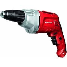 Einhell TH-DY 500 E - Taladro yeso (710 W, control electrónico de velocidad, velocidad rpm 0-4.000 min-1, porta puntas hexagonal, tope de profundidad)