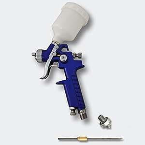Pistolet à peinture HVLP H2000P avec buse de 0.8 / 0.5 mm