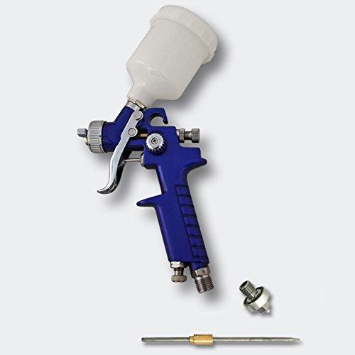 HVLP Lackierpistole Spritzpistole Sprühpistole H2000P 0,8 0,5 mm Düse
