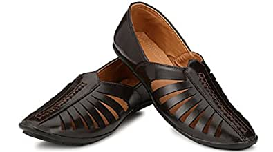 Anshul Fashion Mens Classic Premium Quality Synthetic Leather Casual Loafers