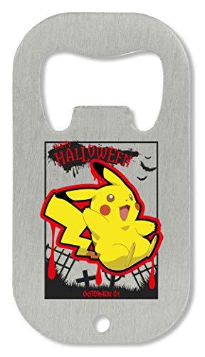 OpenWorld Jump Blood Pikachu Happy Halloween Pokemons Cemetery Anime Flaschenöffner