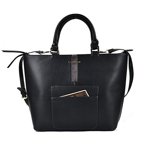 Ladies-Fashion-Desinger-Quality-Shopper-Bags-Womens-Trendy-Handbags-Tote-Bag
