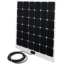 Solarpanel 100w 92x80 cm 3mm dünn 20,8V Ladespannung auch für Caravan, Wohnmobil oder Boot