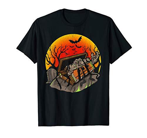 School Kostüm Old Zombie - Vintage Musikkassette Halloween Shirt  Horror Fan Geschenk  T-Shirt