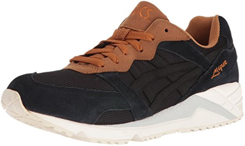 ASICS Men's Gel Lique Fashion Sneaker  Black/Cathay Spice  12.5 M US
