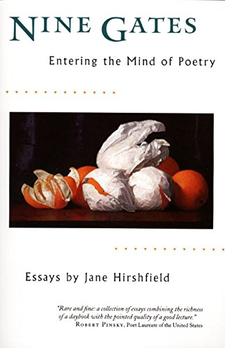 Nine Gates: Entering the Mind of Poetry por Jane Hirshfield
