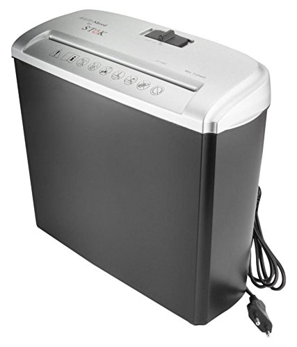 SToK ST-10SCC 5 A4 Size Sheets Strip Cut Shredder -Paper/DVD/CD/Credit Card - 1 YEAR WARRANTY