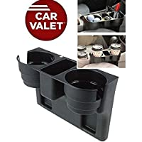HEMJEX Car Valet - Auto Truck Car Seat Drink Cup Holder Valet Beverage Can Bottle Food Mount Stand Box Organizer Multi-Function Vehicle Tool