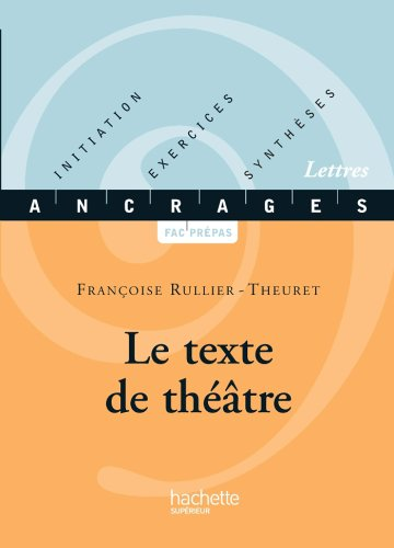 Le texte de théâtre (Ancrages t. 17)