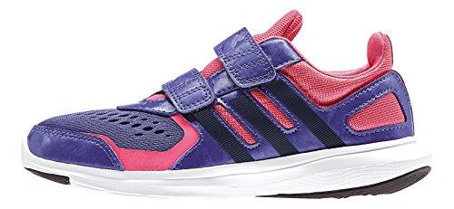adidas Chaussures DAthlétisme Pour Garçon Noir Violet / Rose / Noir