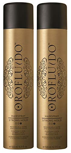 2er Hairspray Orofluido Strong Hold Haarspray Shine je 500 ml = 1000 ml