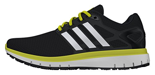Adidas Energy Cloud, Scarpe da Corsa Uomo, Multicolore (Neon Yellow/Black), 44 EU