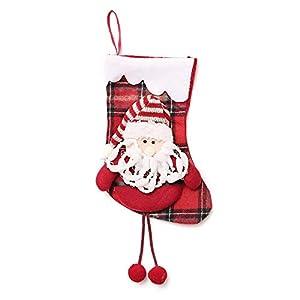Weihnachtssüßigkeitstasche, Zolimx Kindergeschenktasche-Beutel-Weihnachtsgeschenk-Baum-Verzierungs-Strumpf-Weihnachtsmann-Schneemann-Socken-Dekor