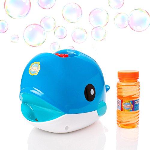 Bubble Mania Bubble Whale - Macchina per fare bolle automatica