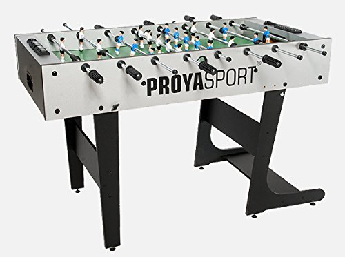 ProyaSport S11 Foldable Football Table in Grey & Black