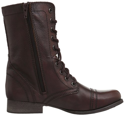 Steve Madden Troopa, Anfibi Donna Brown