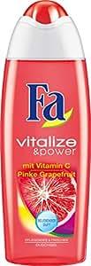 Fa Vitalize & Power Duschcreme, Vitamin C & Pinke Grapefruit, 3er Pack (3 x 250 ml)