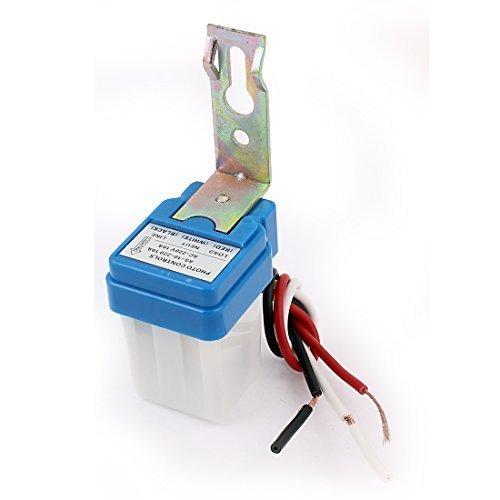 sourcingmap® Automatico Auto On Off Strada Interruttore Della Luce Foto Controllo Sensore AC 220V - Auto Ricambi Auto elettriche e illuminazione