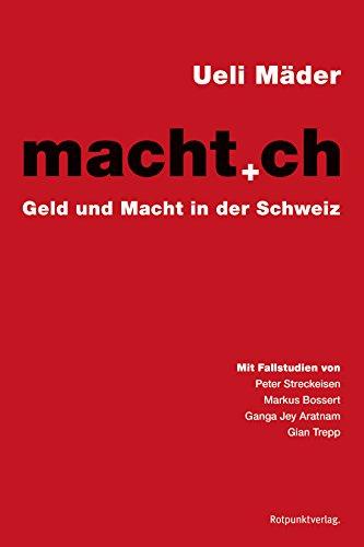 macht.ch: Geld und Macht in der Schweiz