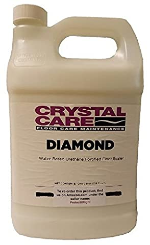 Diamond Urethane Sealer for Terrazzo and Porous Stone Flooring by Crystal Care